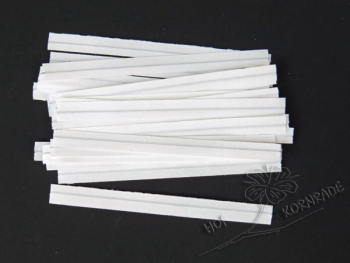 Clips, white, 75mm 1000 Pieces
