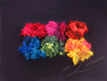 Floating Colour wool balls - colour combination 25g